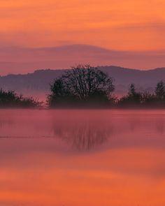bellasecretgarden:   Misty Sunrise Blagdon Lake by peter spencer    Via Flickr: