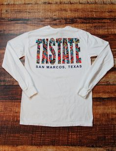 Isn't this such a cute new design? Stay trendy while showing your Texas State some love! Go Bobcats!