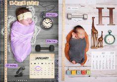 19 fotos do Pinterest para você se inspirar ao anunciar o nascimento do bebê
