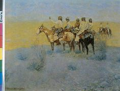 Frederic Remington - Apaches Listening