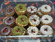 Sweet Cooking, Iranian Food, Vegan Foods, Doughnut, Cake Recipes, Biscuits, Deserts, Muffin, Food Porn
