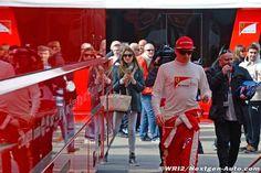 Barcelona Winter Testing at Montmelo Circuit in Barcelona, Spain. [2015, Feb 20-21.] #Kimi #KimiRaikkonen #Raikkonen #iceman #ferrari #f1 pic09