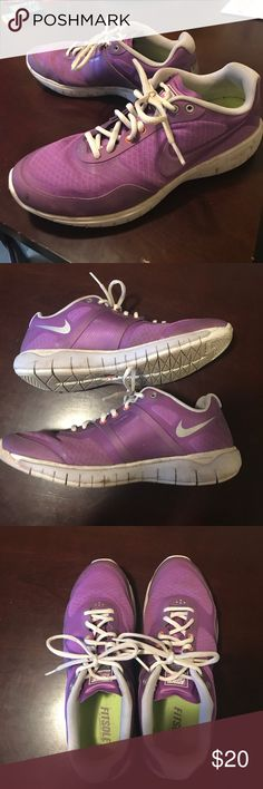 Purple Nike Free XT Vibrant purple color Nike's Free XT. Size 9.5. Will be cleaned before shipped. Make an offer! Nike Shoes Athletic Shoes