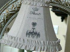 Français Cottage Chic minable personnalisé lin par ShabbieChicHome, $65.00