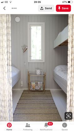 A collection of beautiful country and farmhouse decor ideas Farmhouse Bedroom Decor, Country Farmhouse Decor, Beach House Bedroom, Summer Cabins, Bunk Rooms, Cottage Interiors, Cottage Style, Interior Design Living Room, Small Spaces