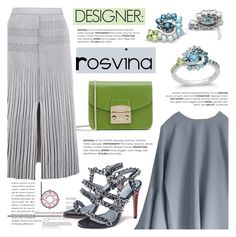 """Designer: Rosvina/Indonesia"" by blossom-jewels ❤ liked on Polyvore featuring Proenza Schouler and Furla"