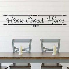 Home Sweet Vinyl Wall Decal Sticker