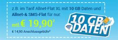 5GB Telekom Allnet Flat für 15,90€ / 10GB für 19,90€ http://www.simdealz.de/telekom/sparhandy-telekom-allnet-flat-tarife/