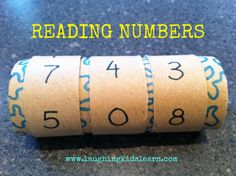 Laughing Kids Learn: Reading Numbers.  This can be adjusted to suit all ages and levels of understanding. Improves number skills.
