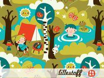 ♥ lillestoff - Bio Jersey CAMPING  ♥