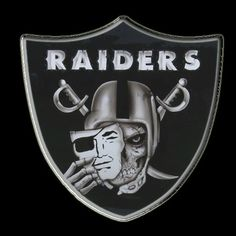 The Raiders Shield. Cant wait until football starts again!