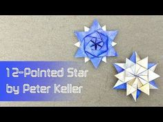 12-Pointed Origami Star by Peter Keller| Go Origami!