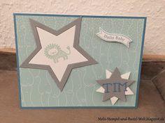 Stampin Up, Baby Card, Karte, Kinderkargte, Jungen Karte, Zoo Babies, Bunte Party