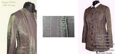 SEWING CHANEL-STYLE - Blog Chanel Style, Chanel Fashion, Style Blog, Military Jacket, Sewing, How To Make, Jackets, Inspiration, Haute Couture