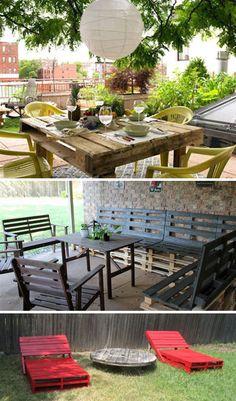 DIY Pallet-OutDoor Furniture