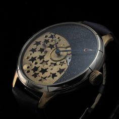 Half skeleton Omega 1929 Vintage watch