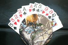 The Amazing Gripper Playing Card Holder for the man in your life! (Choose the  design) - pinned by pin4etsy.com