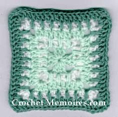 Mint Delight Granny Square