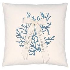Christmas Coral Pillow