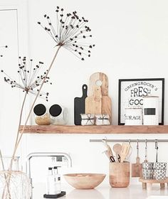 detalles para cocina perfecta repisa madera