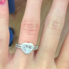My promise ring from my boyfriend!