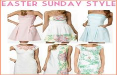 """What to wear on Easter Sunday. Hey Insiders!Easter is here and I bet you are wondering """"What the heck am I going to wear on Easter Sunday?!"""" Not to worry, I have a solution. Here are some super fab Easter outfit options!A sweet sundress: What is more perfect than a light, fun sundress to brighten up your Easter Sunday? Not mu...  Read More at http://www.chelseacrockett.com/wp/beauty/what-to-wear-on-easter-sunday/.  Tags: , #Chelsea Crockett, #Beautyliciousinsider,"""