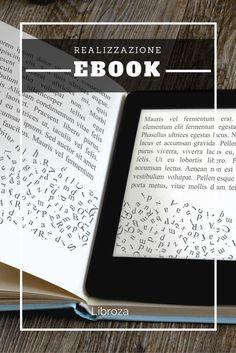 Realizzazione ebook nei formati kindle ed epub per la pubblicazione online - Libroza.com