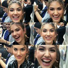 WEBSTA @ gigi_grigio_te_amo_fc - 💥VOCÊ E UM TIRO 💋Esse sorriso !!! 😍👀 Mim faz tao feliz de ver ela assim, toda Alegre !! 😘🌼 (video ao lado) 💙 @gigigrigio #giovannagrigio #gigigrigio #gilovers #VivaADiferença #vemsamantha 😜