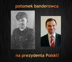 Potomek banderowca na prezydenta Polski - gloria.tv