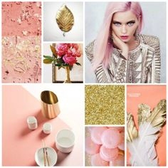 golds, peaches, corals, creams, etc. perfect color palette for spring.