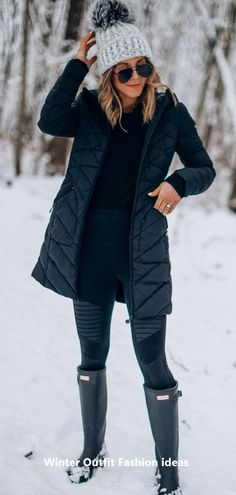 Jacket cozy outfits, cozy winter outfits, winter wear, f. Winter Boots Outfits, Fall Outfits, Outfits 2016, Summer Outfits, Black Women Fashion, Womens Fashion, Chic Outfits, Fashion Outfits, Fashion Clothes
