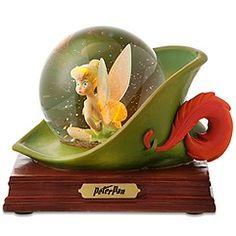 Disney Store 25th Anniversary Tinker Bell Snowglobe