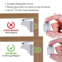 Magnetic Baby Safety Locks of Kikoocare for Cabinets and Lock 2 Key for Baby Proofing Cabinets >>> Check this awesome product by going to the link at the image. (This is an affiliate link) Cupboard Doors, Cabinet Drawers, Baby Proof Cabinets, Child Safety Locks, 2 Keys, Baby Safety, Easy Install, Can Opener, Magnets