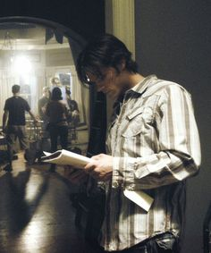 Jared Padalecki behind the scenes of Supernatural #BTS #Jared