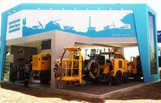 Cliente: Atlas Copco Peruana. Arquitectura en Drywall y carpintería en MDF, uno de los mejores de la feria
