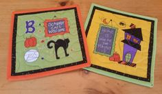 Check out this item in my Etsy shop https://www.etsy.com/listing/251471497/halloween-mug-rugs-set-of-2-snack-mats