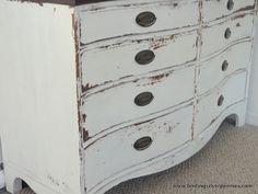 Isla Dresser - Finding Silver Pennies, such a pretty dresser DIY