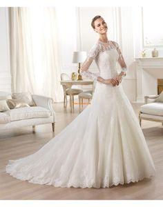 A-Lijn Glamoureuze & Dramatische van Teenpassing Bruidsmode 2014