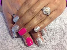 Fun summer nails!! By Becky...
