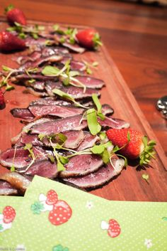 Wonderfully moreish duck biltong - the guests couldn't get enough of this! Cheese Omelette, Biltong, Spice Rub, Grass Fed Beef, Hibiscus, Followers, The Cure, Paleo