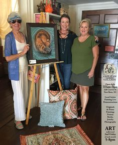 A new happy with on canvas by See more on at at 228 Craven St. Carol Jones, New Bern, Art Walk, Greater Good, Contemporary Artwork, Local Artists, Spirit Animal, Exhibit, North Carolina