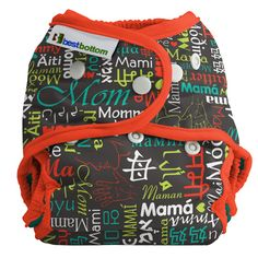 Best Bottom Diapers - Limited Edition - Mama Love - Shipping NOW!