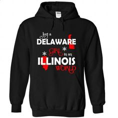 DELAWARE-ILLINOIS Girl 06Red - #navy sweatshirt #tailored shirts. CHECK PRICE => https://www.sunfrog.com/States/DELAWARE-2DILLINOIS-Girl-06Red-Black-Hoodie.html?id=60505