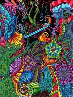 Trippy Art Painting Black Lights 59 Ideas For 2019 Trippy Art Painting Black Lights 59 Ideas For 2019 Painting Art Zen Doodle, Doodle Art, Grafic Design, Psy Art, Tangle Art, Tangle Doodle, Hippie Art, Psychedelic Art, Art Plastique