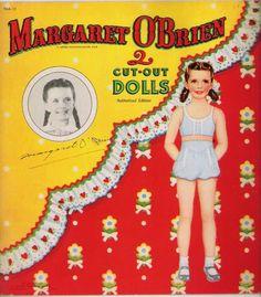 Margaret Obrien 1946 Whitman #954 - Bobe Green - Picasa Webalbum* 1500 free paper dolls international artist Arielle Gabriel's The Internatonal Paper Doll Society for paper doll pals at Pinterest *