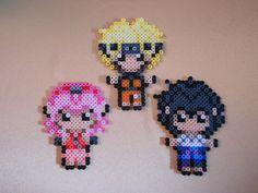 Naruto Perler Bead Set by Arigatoupop