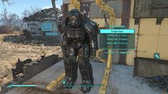 FALLOUT 4 Hellfire Power Armor Creation Club Content.
