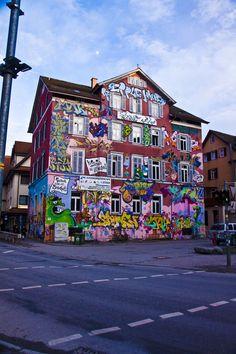 Graffiti and Street Art Urban Street Art, 3d Street Art, Amazing Street Art, Street Artists, Urban Art, Amazing Art, Awesome, Grafitti Street, Graffiti Artwork