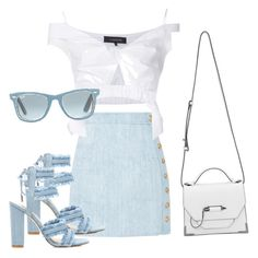 Untitled #7 by karpacheva3 on Polyvore featuring polyvore, fashion, style, Thakoon, Balmain, Mackage, Ray-Ban and clothing