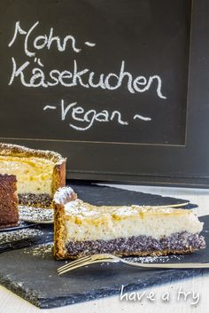 Mohn-Käsekuchen (vegan) You are in the right place about fruit Seeds Here we offer you the most beautiful pictures about the vegetable Seeds you are looking for. When you examine the Mohn-Käsekuchen ( Desserts Végétaliens, Health Desserts, Cheesecake Vegan, Easter Cheesecake, Birthday Cheesecake, Sweet Recipes, Vegan Recipes, Cake Recipes, Dessert Recipes